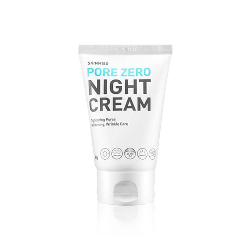 [SKINMISO] Pore Zero Night Cream 80g (Weight : 125g)