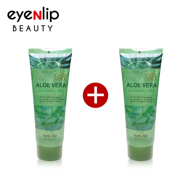 BIG SALE - BIG SALE -[EYENLIP] [1+1] Aloe Vera Soothing Gel 115ml [Size up] (Weight : 273g)