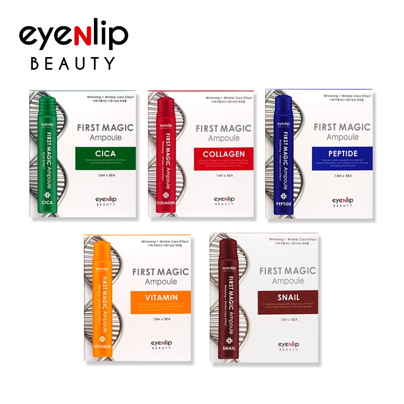 [EYENLIP] First Magic Ampoule 5 Type 13ml * 5pcs (1BOX) Pride Of Product's Quality (Weight : 110g)