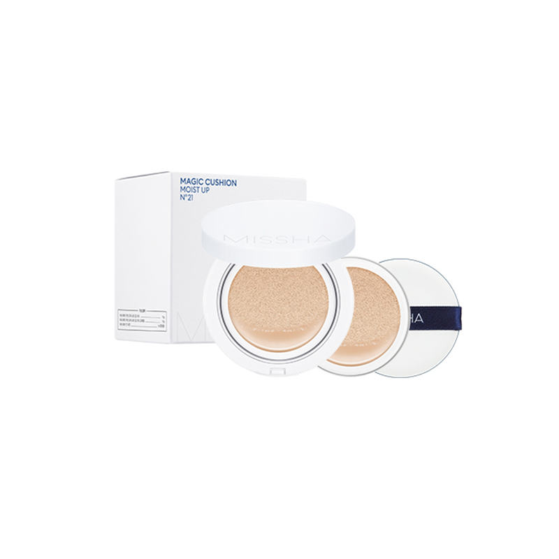 [MISSHA] Magic Cushion 15g + Refill Set 15g [Moist Up] 2 Color (Weight : 135g)