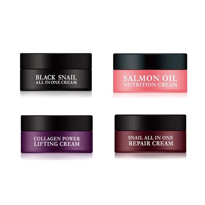 [EYENLIP] Salmon Oil & Snail & Collagen 4Types Of Cream 15ml [SAMPLE] (Weight : 34g)