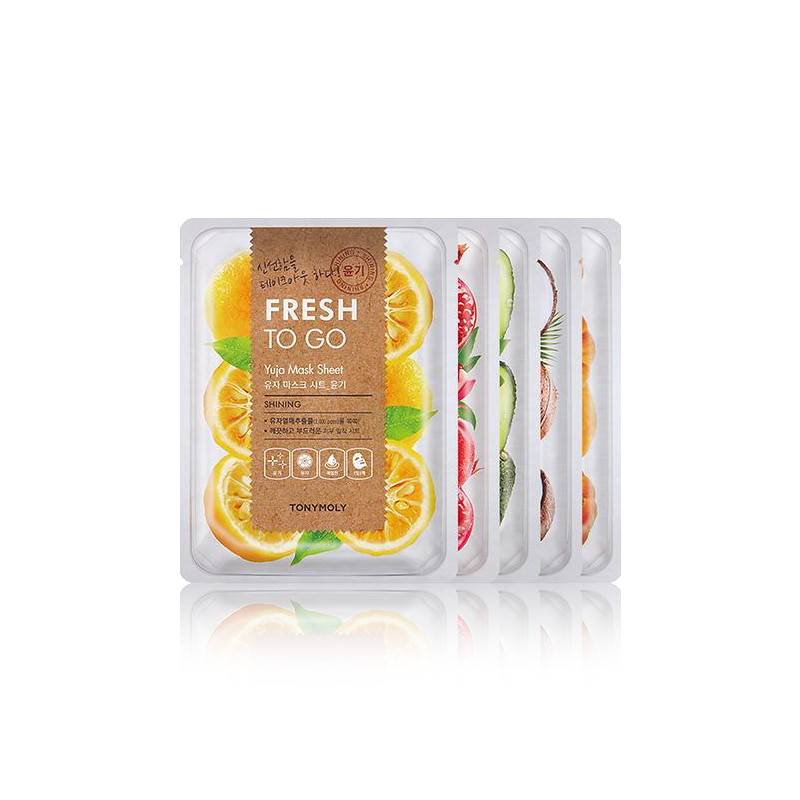 [TONYMOLY] Fresh To Go Mask Sheet 25g 1pcs (Weight : 34g)