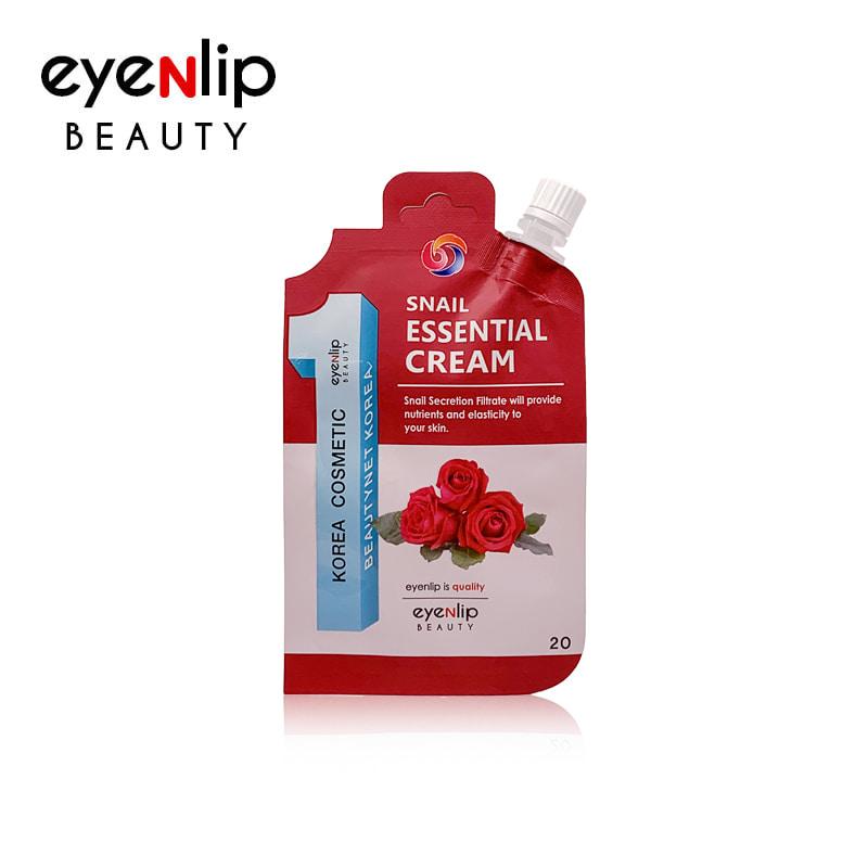 [EYENLIP] Snail Essential Cream 20g (Weight : 26g)