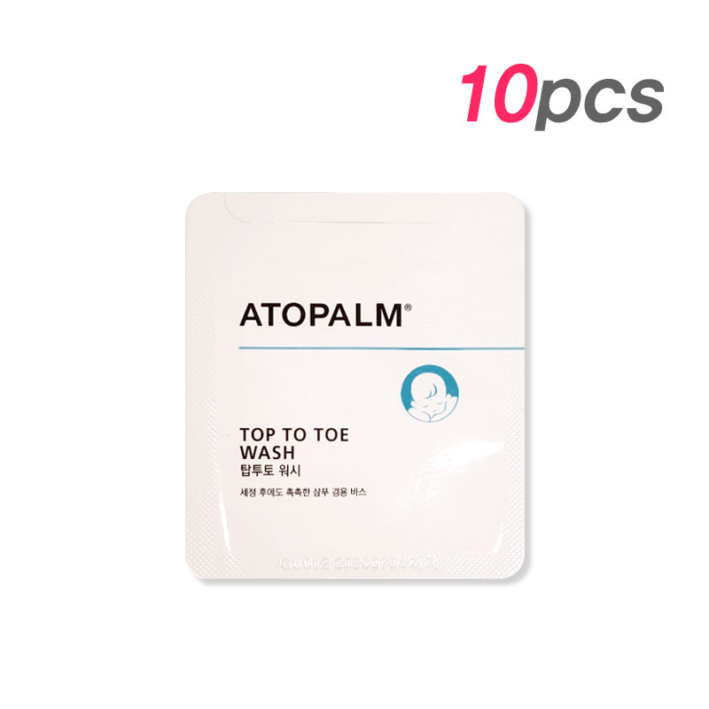 [ATOPALM] Top To Toe Wash 3ml * 10pcs [Sample] (Weight : 47g)