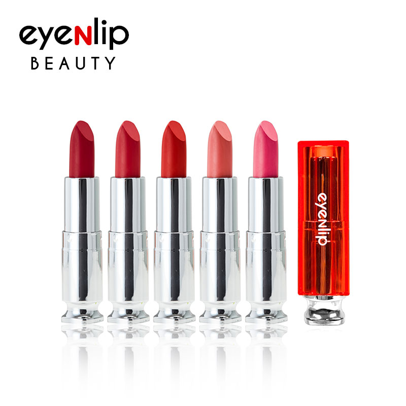 BIG SALE - [EYENLIP] Matt Lipstick 5 Color 4g (Weight : 32g)