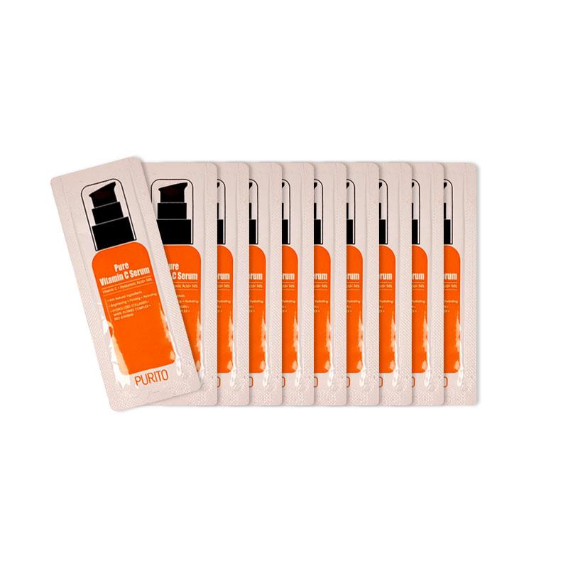 [PURITO] Pure Vitamin C Serum 10pcs [Sample] (Weight : 18g)