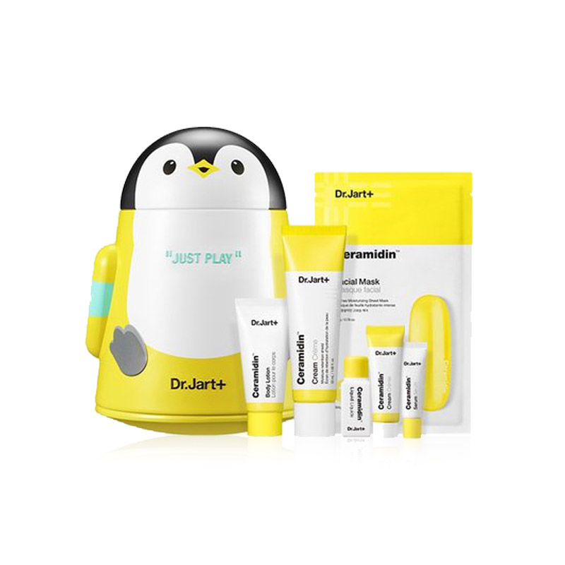 [DR.JART+] Ceramidin Cream Play Set (6 items) (Weight : 515g)