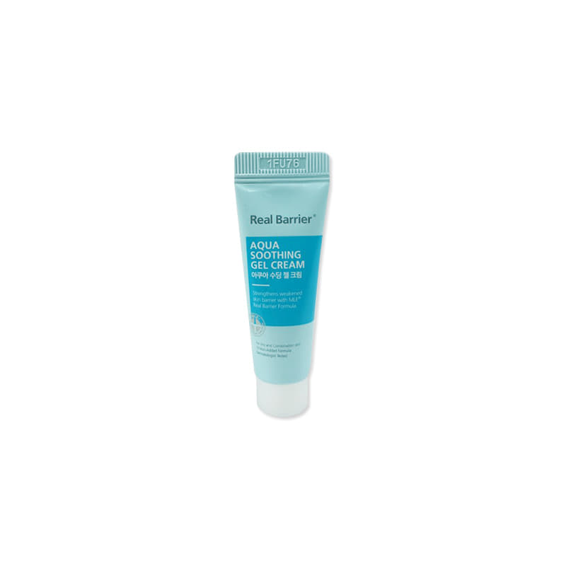 [REAL BARRIER] Aqua Soothing Gel Cream 10ml [Sample] (Weight : 16g)