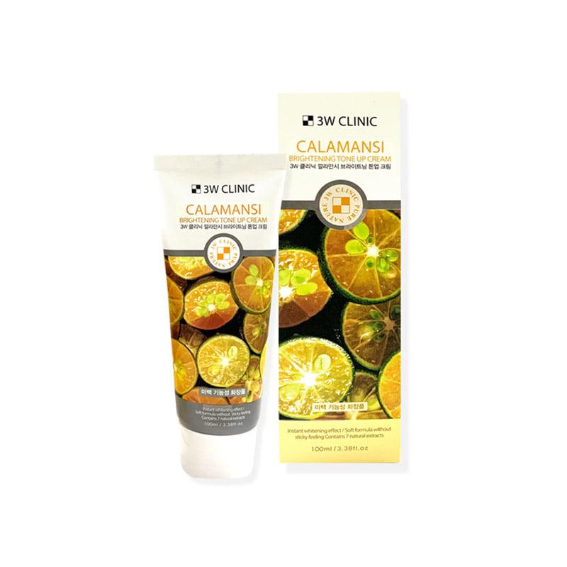 [3W CLINIC] Calamansi Brightening Tone Up Cream 100ml (Weight : 135g)
