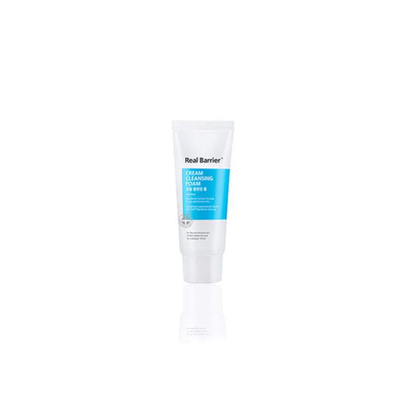 [REAL BARRIER] Cream Cleansing Foam 15g [Sample] (Weight : 22g)