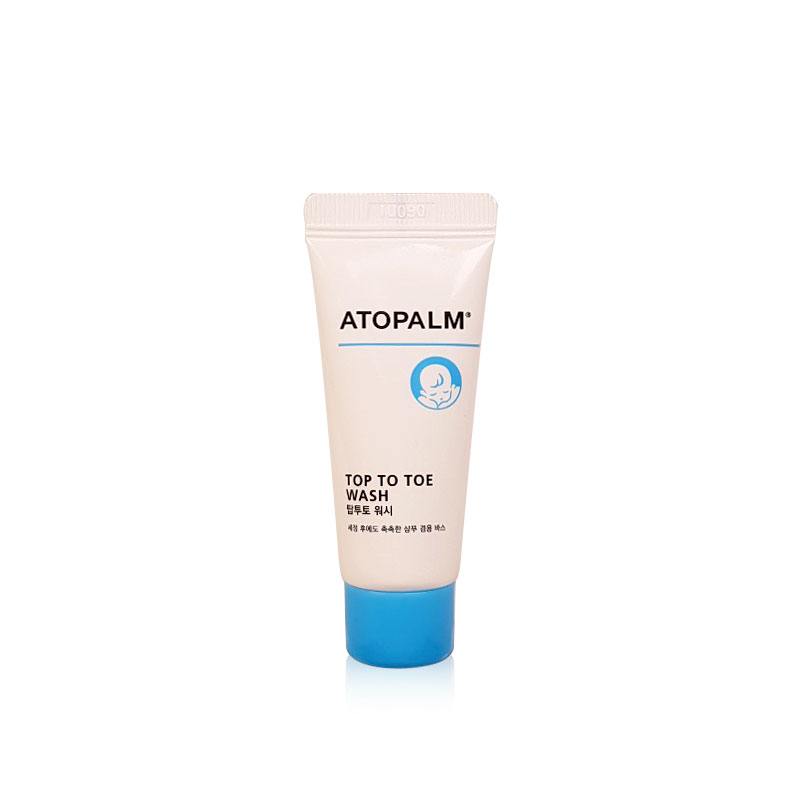 [ATOPALM] Top To Toe Wash 20ml [Sample Tube] (Weight : 28g)