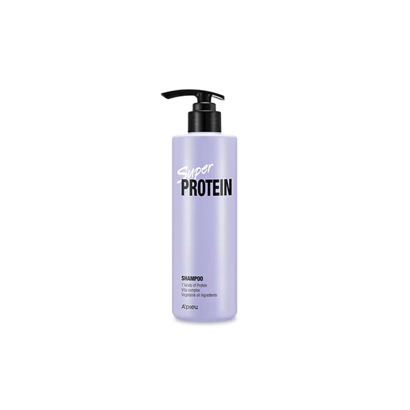 [A'PIEU] New Super Protein Shampoo 490ml (Weight : 603g)