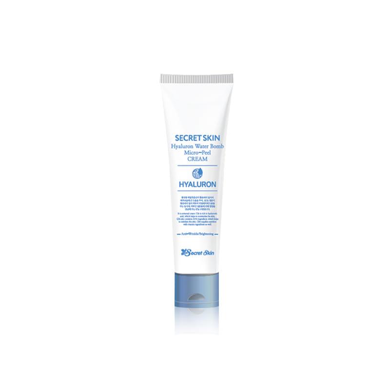 [SECRETSKIN] Hyaluron Water Bomb Micro-Peel Cream 70g (Weight : 90g)