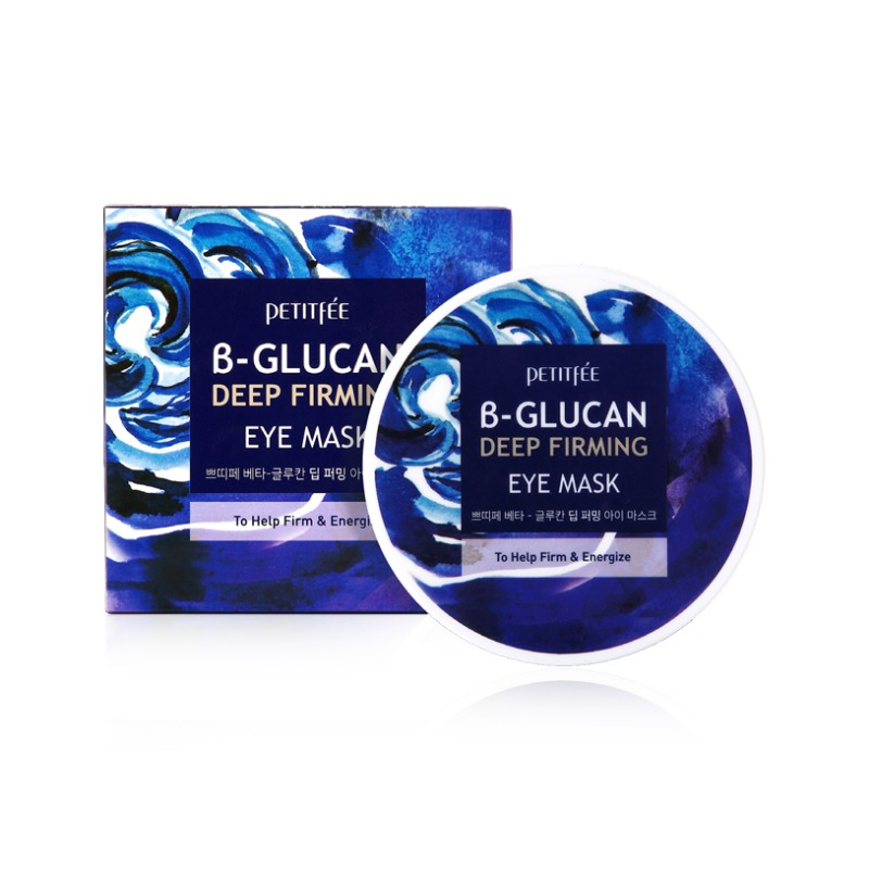 [PETITFEE] β-Glucan Deep Firming Eye Mask 70g(60ea) (Weight : 202g)