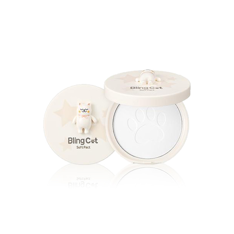[TONYMOLY] BLING CAT Soft Pact 12.5g (Weight : 67g)