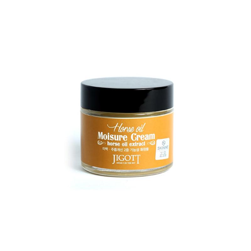 [JIGOTT] Horse Oil Moisture Cream 70ml (Weight : 240g)