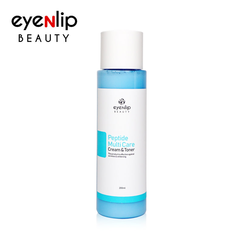[EYENLIP] Peptide Multi Care Cream & Toner 200ml (Weight : 297g)
