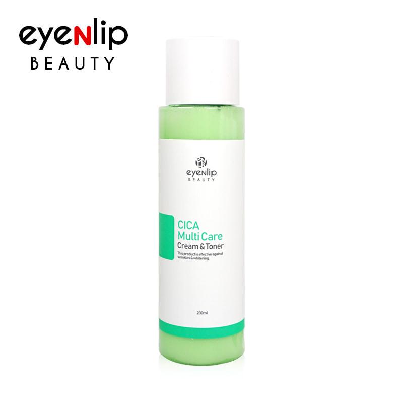 [EYENLIP] Cica Multi Care Cream & Toner 200ml (Weight : 297g)