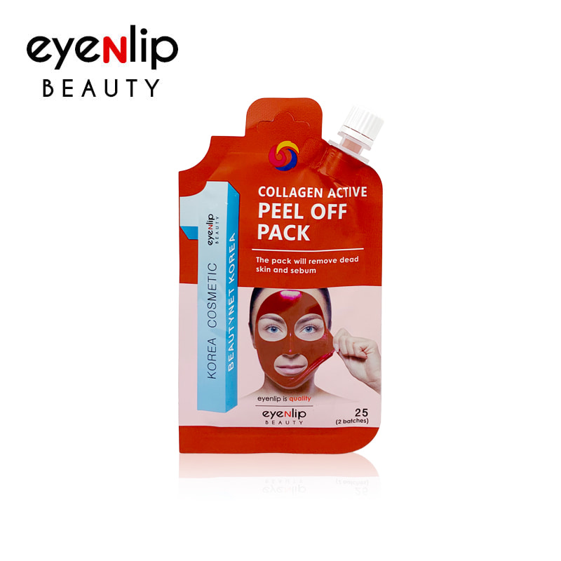 [EYENLIP] Collagen Active Peel Off Pack 25g (Weight : 32g)