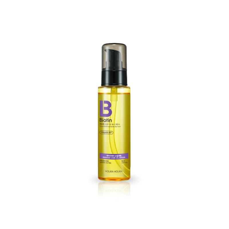 [HOLIKA HOLIKA] Biotin Damage Care Oil Serum 80ml (Weight : 112g)