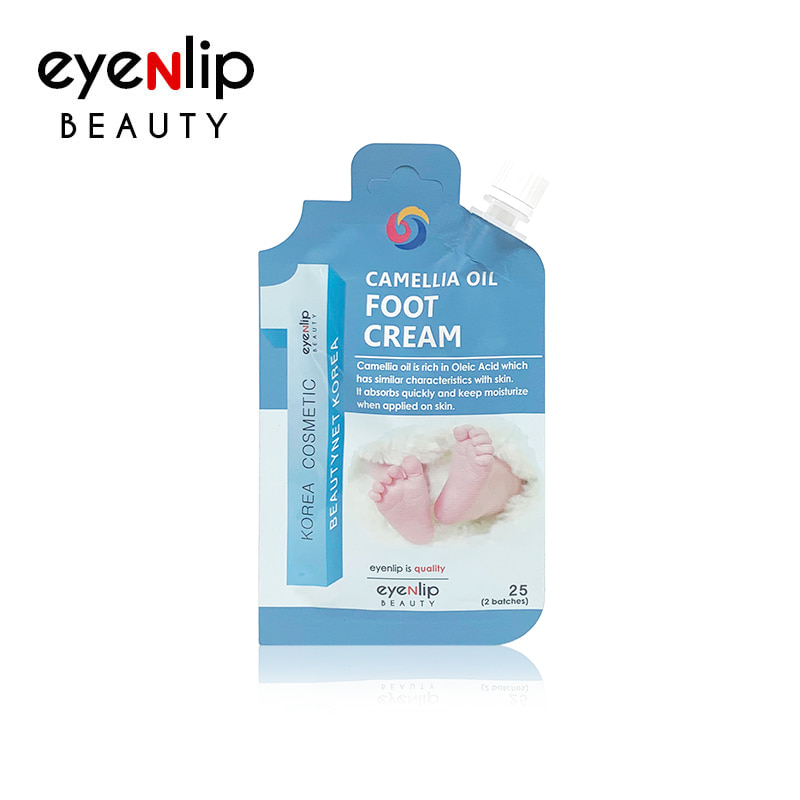 [EYENLIP] Camellia Oil Foot Cream 25g (Weight : 32g)