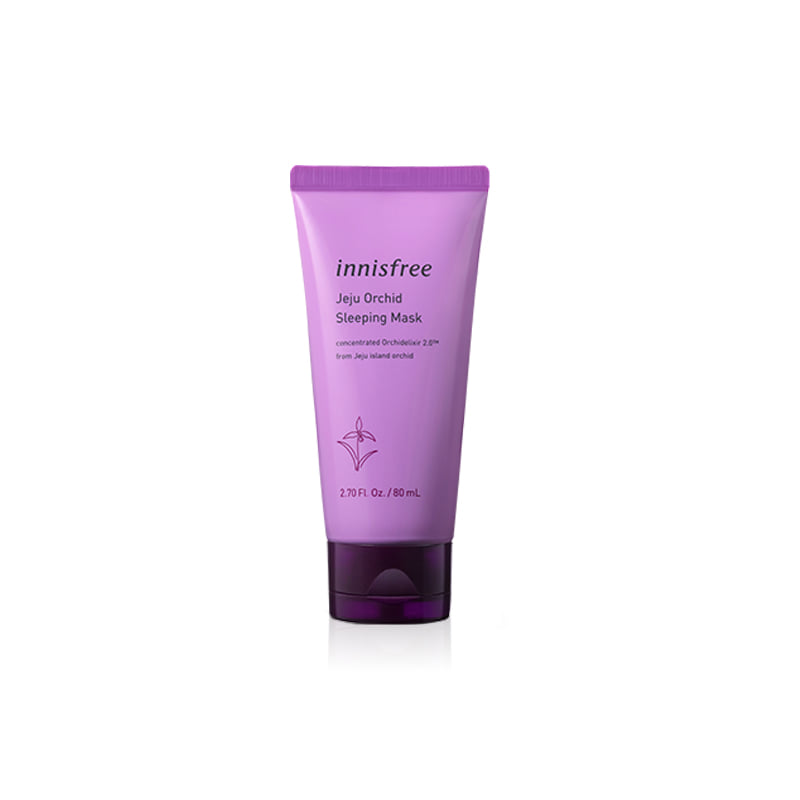 [INNISFREE] Jeju Orchid Sleeping Mask 80ml (Weight : 122g)