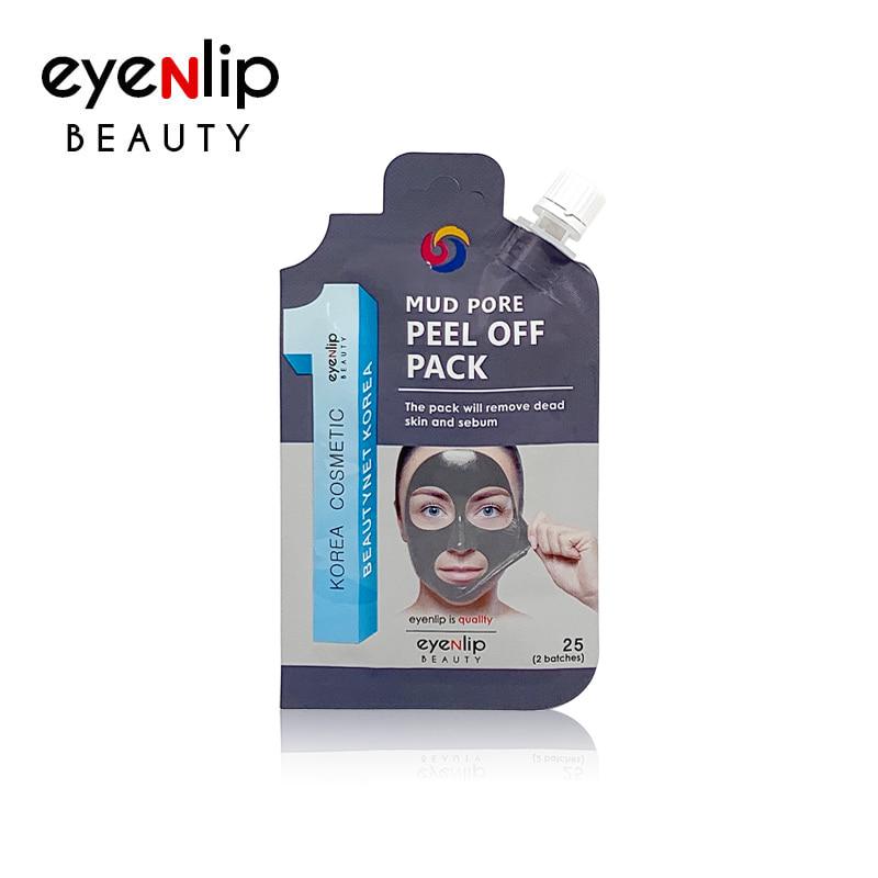 [EYENLIP] Mud Pore Peel Off Pack 25g (Weight : 32g)