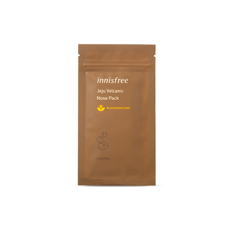 [INNISFREE] Jeju Volcanic Nose Pack 6 Patches (Weight : 18g)