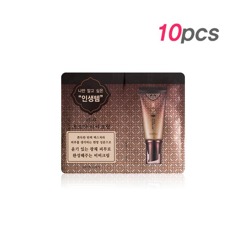 [MISSHA] Cho Bo Yang BB Cream SPF30/PA++ #21 1g* 10pcs [sample] (Weight : 40g)