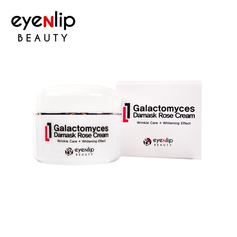 [EYENLIP] Galactomyces Damask Rose Cream 50g (Weight : 121g)