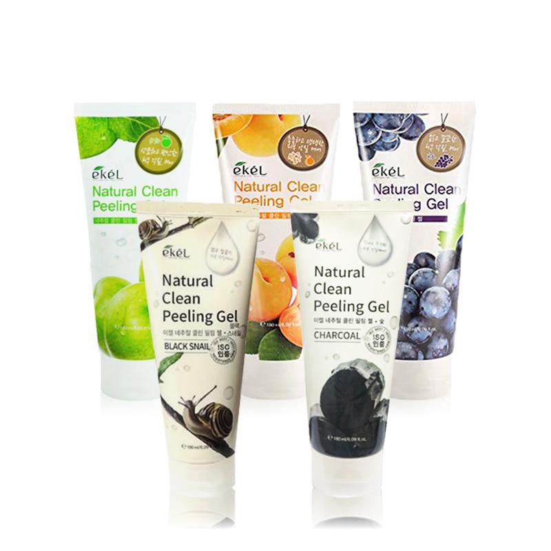 [EKEL] Natural Clean Peeling Gel 180ml 5 Type (Weight : 236g)