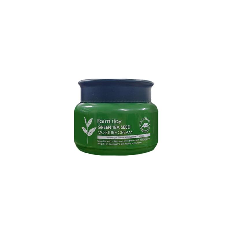 [FARM STAY] Green Tea Seed Moisture Cream 100g (Weight : 203g)