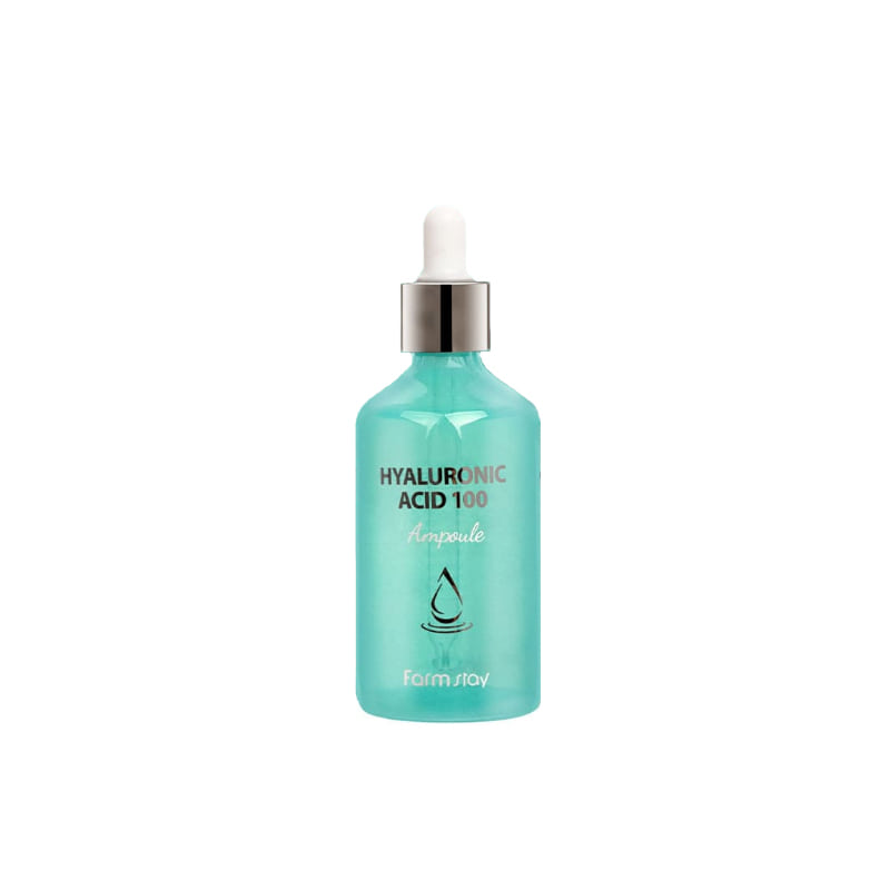 [FARM STAY] Hyaluronic Acid 100 Ampoule 100ml (Weight : 271g)