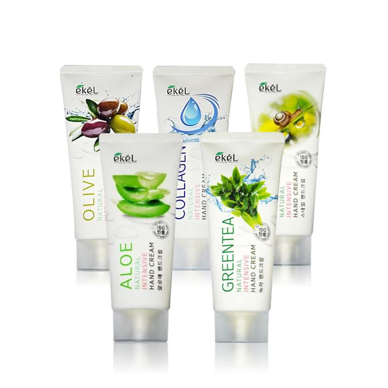 [EKEL] Natural Intensive Hand Cream 100ml 5 Type (Weight : 128g)