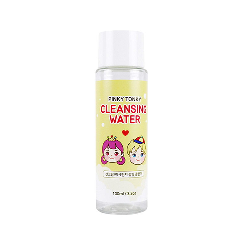 [PINKY] Pinky Tonky Mild Cleansing Water 100ml (Weight : 137g)