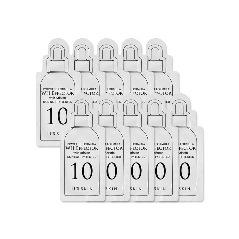 [IT'S SKIN] Power 10 Formula WH Effector 1ml * 10pcs  [Sample] (Weight : 17g)