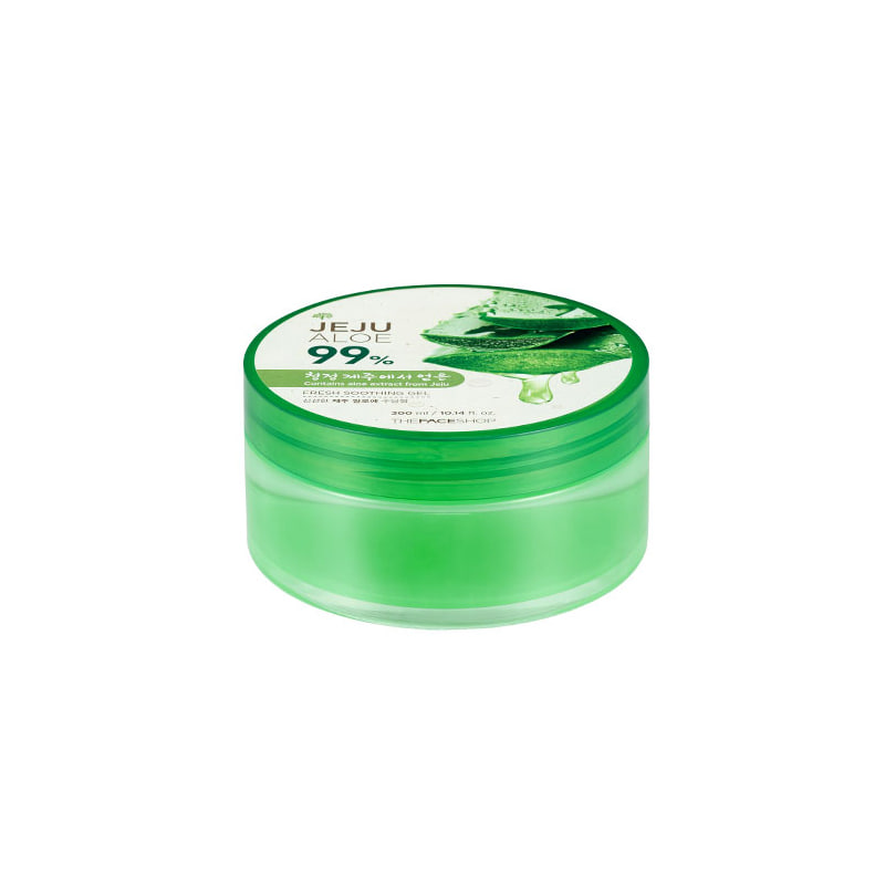 [THE FACE SHOP] Jeju Aloe 99% Fresh Soothing Gel 300ml (Weight : 383g)