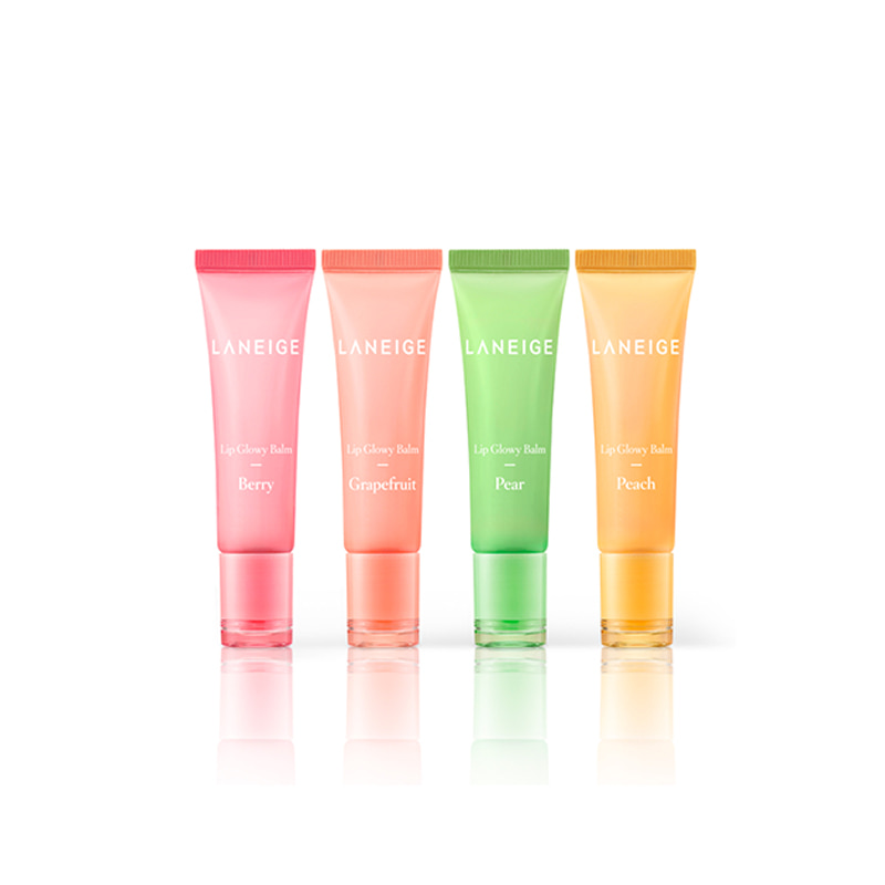 [LANEIGE] Lip Glowy Balm 10g 4 Type (Weight : 22g)