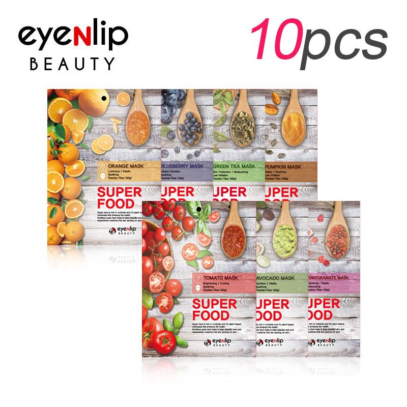 [EYENLIP] Super Food Mask 23ml * 10pcs 7 Type (Weight : 305g)
