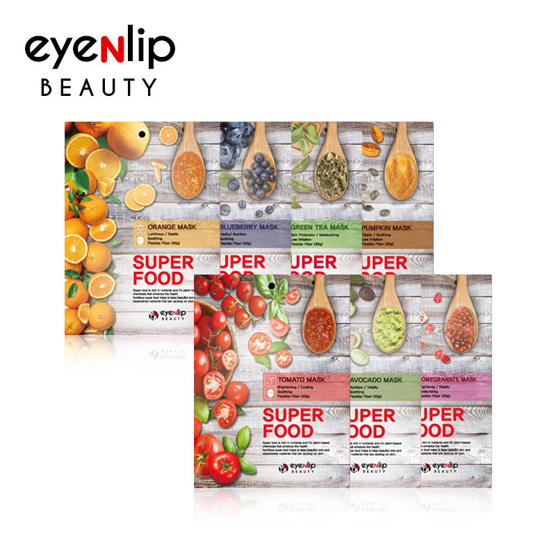 [EYENLIP] Super Food Mask 23ml * 1pcs 7 Type (Weight : 30g)