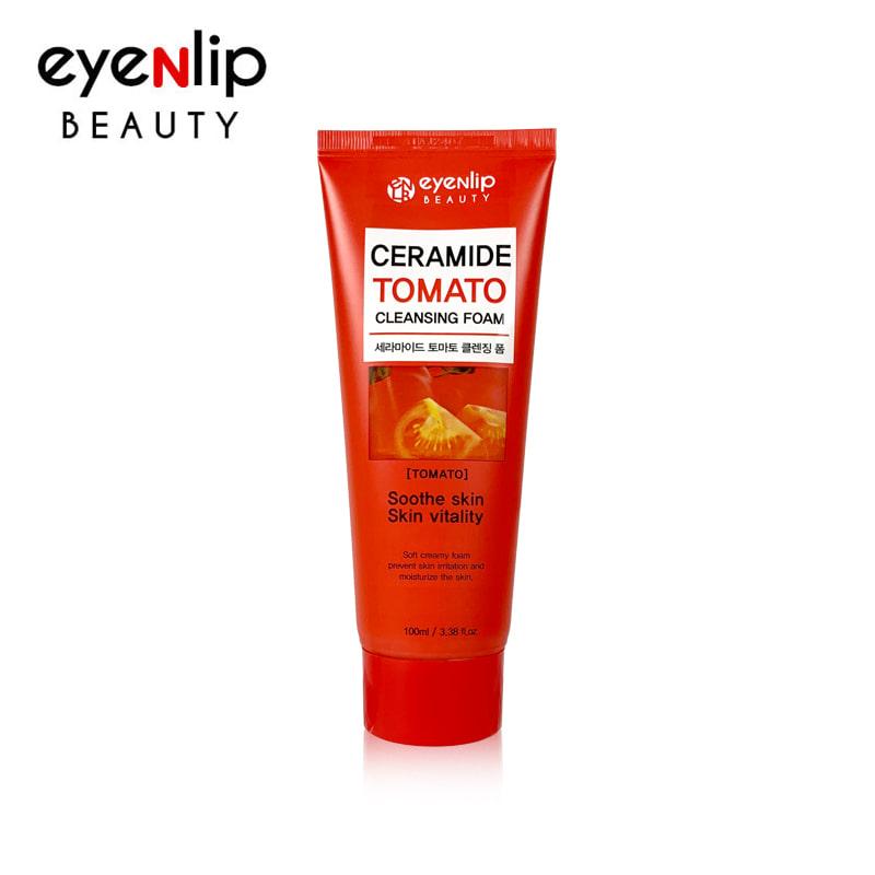 [EYENLIP] Ceramide Tomato Cleansing Foam 100ml (Weight : 133g)