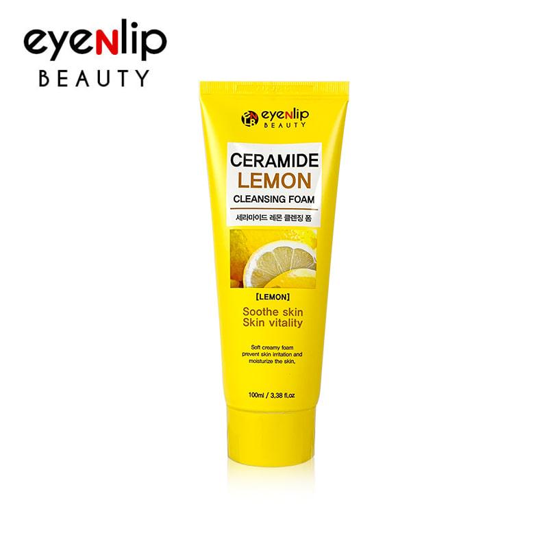 [EYENLIP] Ceramide Lemon Cleansing Foam 100ml (Weight : 133g)