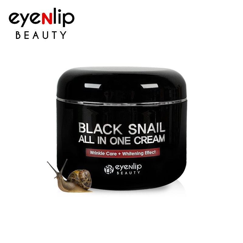 [EYENLIP] Black Snail All In One Cream 100ml (Weight : 195g)