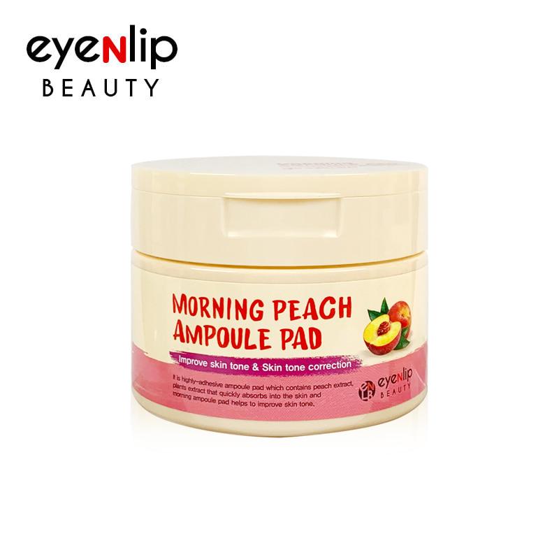 모닝 복숭아 앰플 패드 120ml / 100 Pads  Morning Peach Ampoule Pad 120ml / 100 Pads