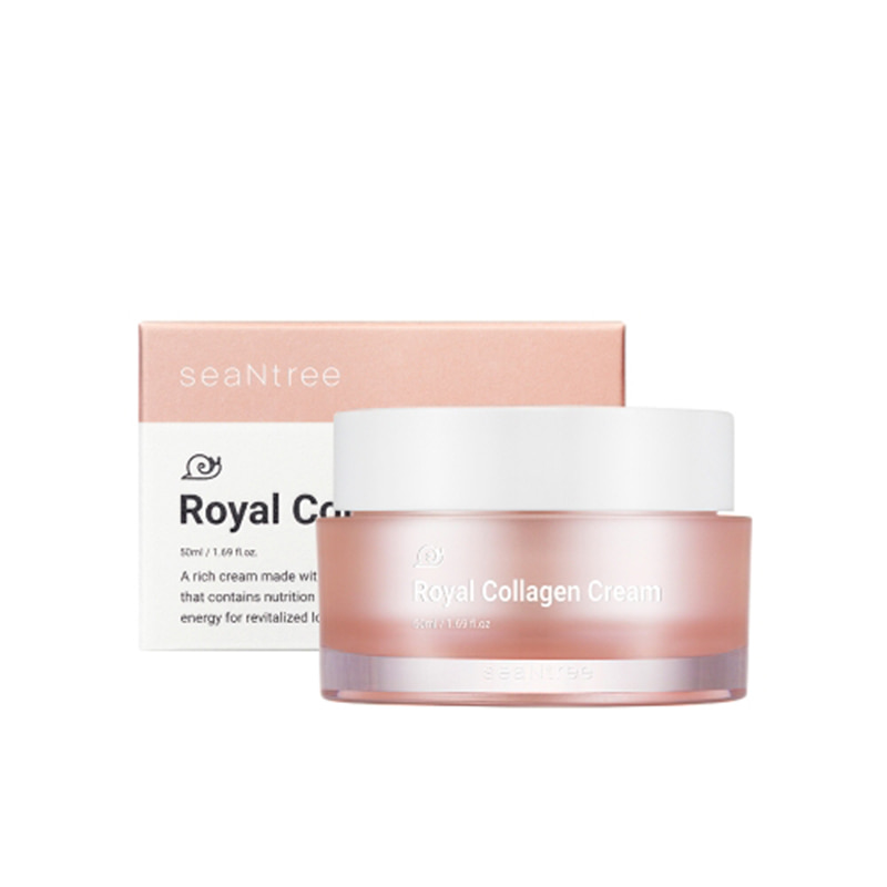 [SEANTREE] Royal Collagen Cream 50ml (Weight : 181g)