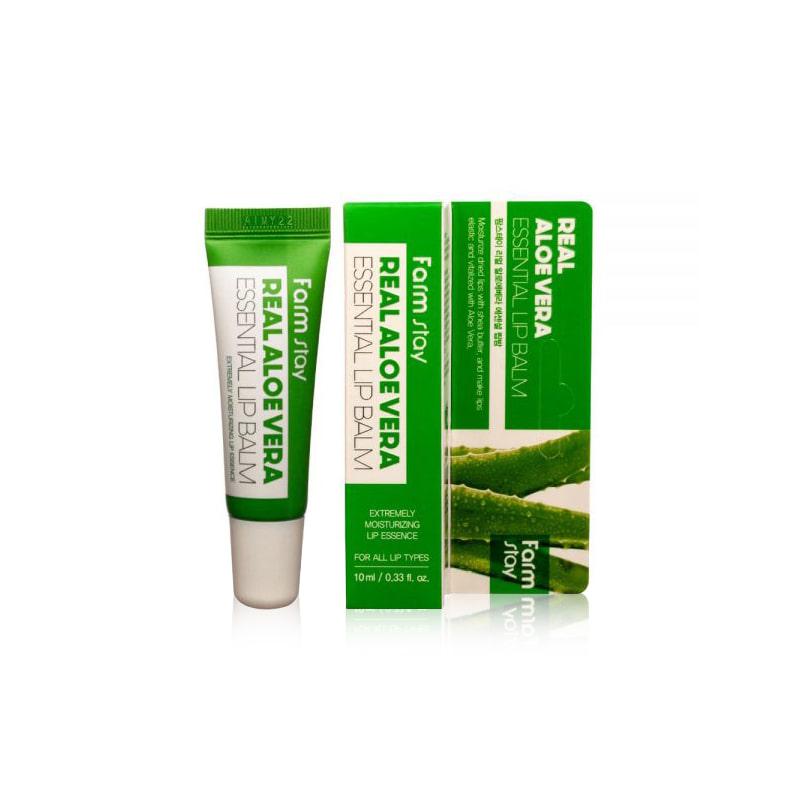 [FARM STAY] Real Aloe Essential Lip Balm 10ml (Weight : 22g)
