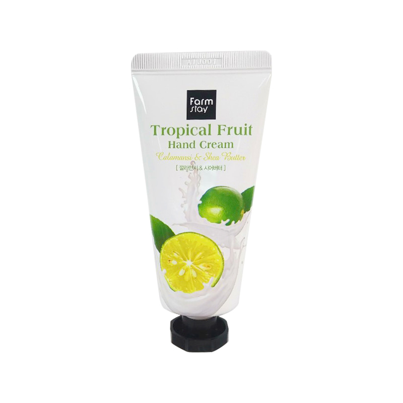 [FARM STAY] Tropical Fruit Hand Cream #Calamansi & Shea Butter 50ml In Box  (Weight : 71g)