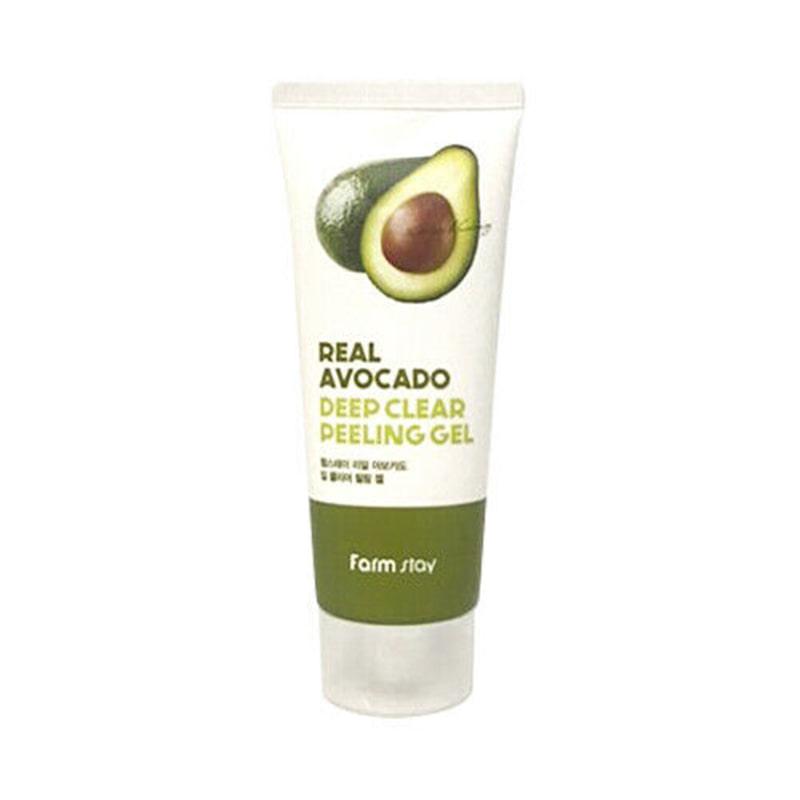 [FARM STAY] Real Avocado Deep Clear Peeling Gel 100ml (Weight : 129g)