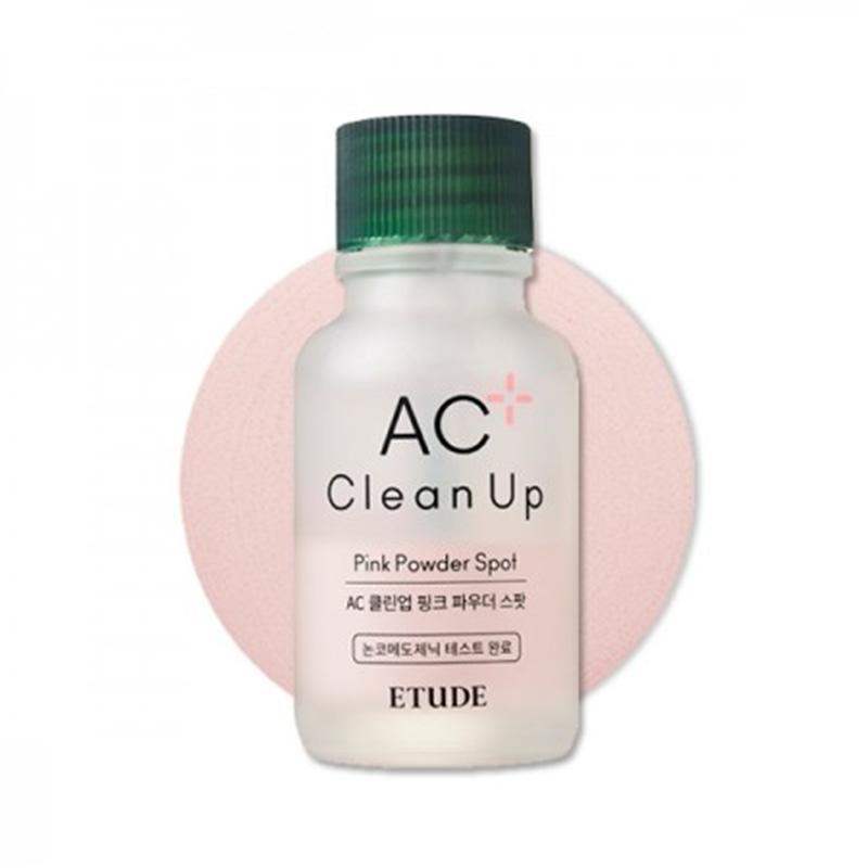[ETUDE HOUSE] AC Clean Up Pink Powder Spot 15ml 2020 Renewal (Weight : 82g)
