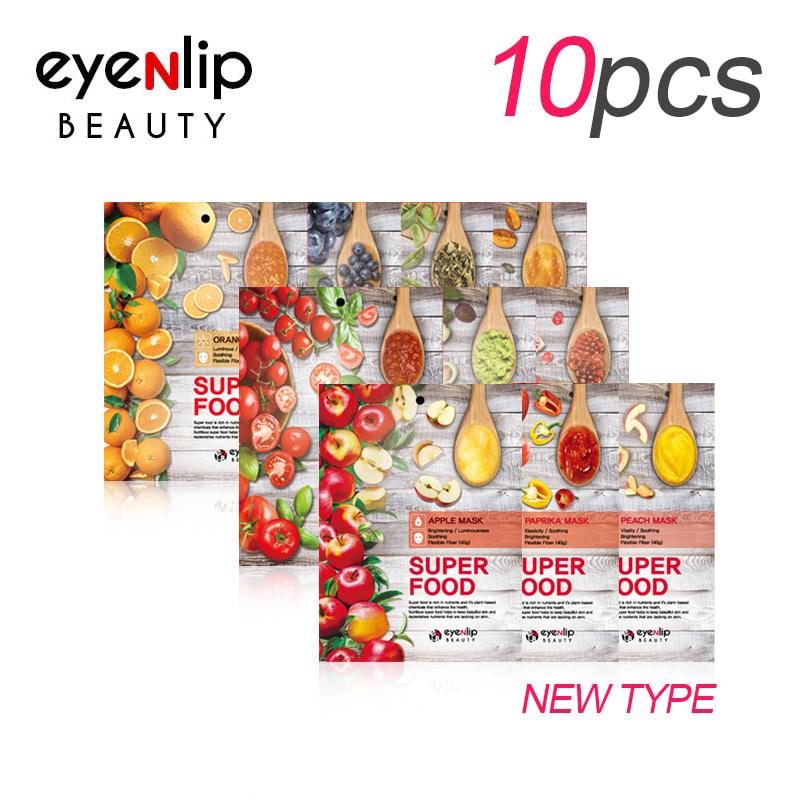 [EYENLIP] Super Food Mask 23ml * 10pcs 10 Type (Weight : 305g)